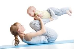 getting in shape after pregnancy