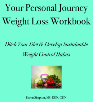 weight loss workbook cover